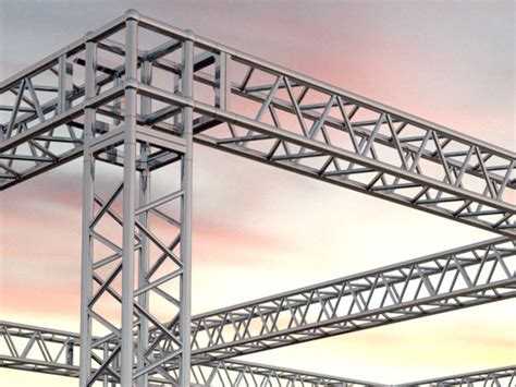 traliccio dwg doclace 3d objects archicad americana truss