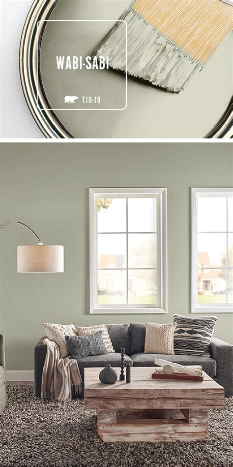 interior house paint color hue earth tones transform your home with the light green hue of wabi sabi