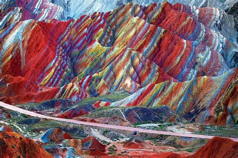the colors of the mountain rainbow cake mountains show stunning slices of colour