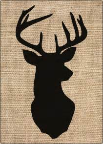1000 ideas about deer head silhouette on pinterest silhouettes