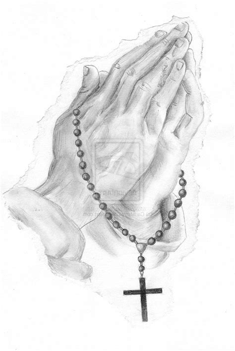 praying hands with rosary tattoo 1000 images about