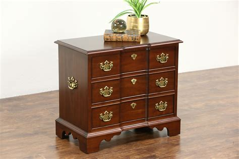Pennsylvania House Nightstand by Sold Traditional Cherry Vintage Small Chest Or