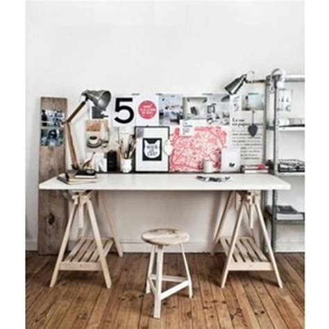 ikea trestle desk gallery