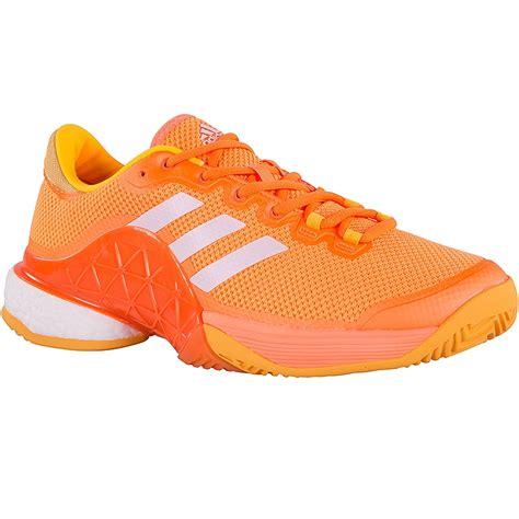 adidas barricade boost 2017 s tennis shoe orange gold