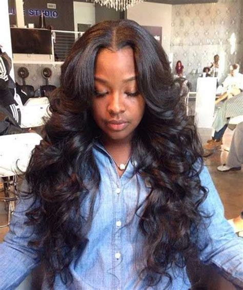 sew in leave out body waves yelp 17 best ideas about middle part weave on pinterest