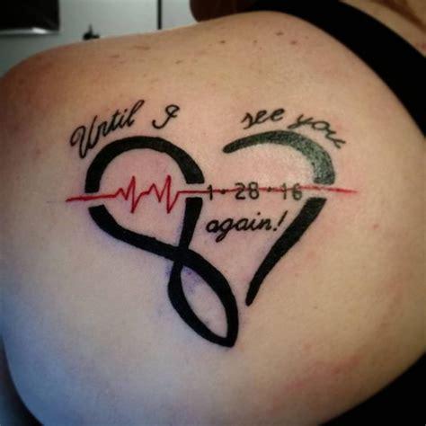 infinity ekg tattoo awesome top 100 infinity tattoo http 4develop com ua