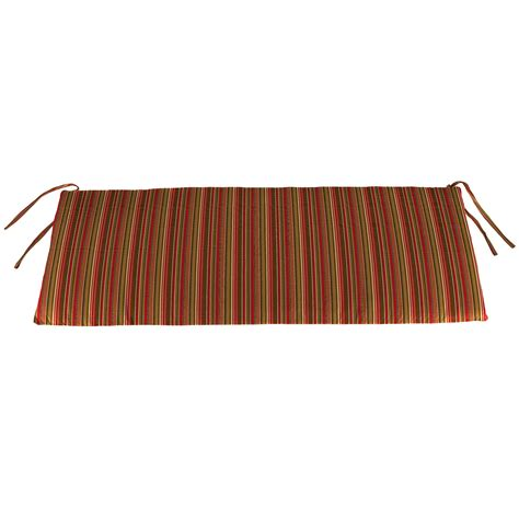 54 outdoor bench cushion jordan manufacturing sunbrella 54 x 18 in bench cushion