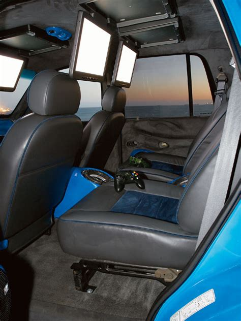 Custom Ford Excursion Interior by 1997 Ford Expedition Custom Interior Photo 10