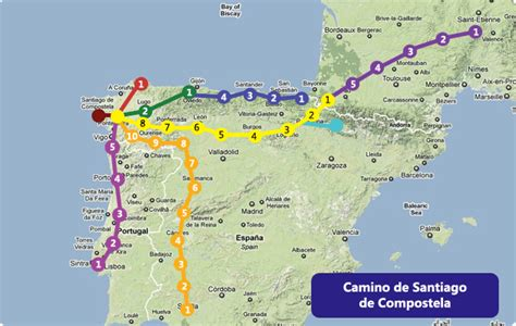camino de santiago map bike is the new black missing the sun