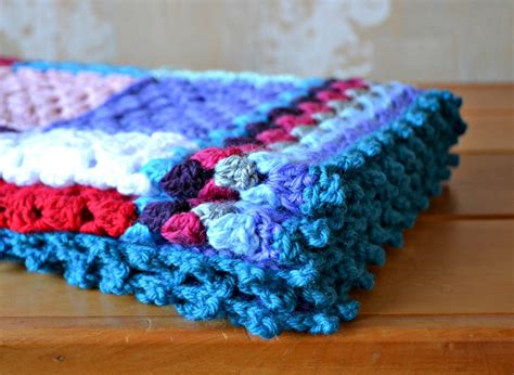 Crochet Square Blankets by Crochet Square Baby Blanket The Green Dragonfly