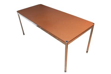 Usm Haller Schreibtisch by Usm Haller Schreibtisch Leder Gebraucht 175 X 75cm