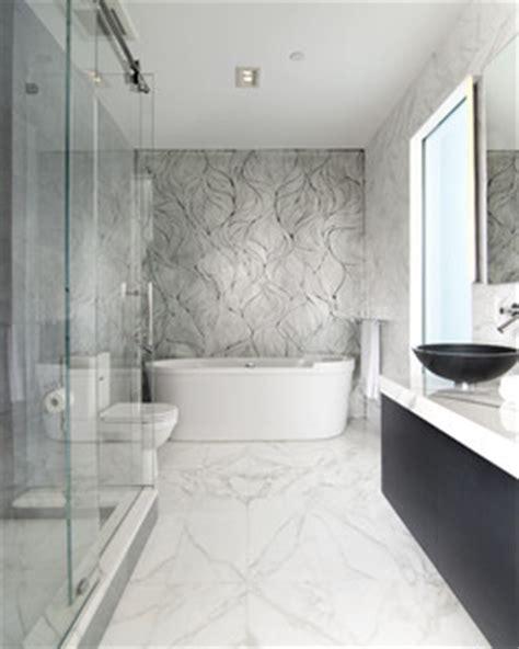 calacatta gold bath  epc management modern bathroom