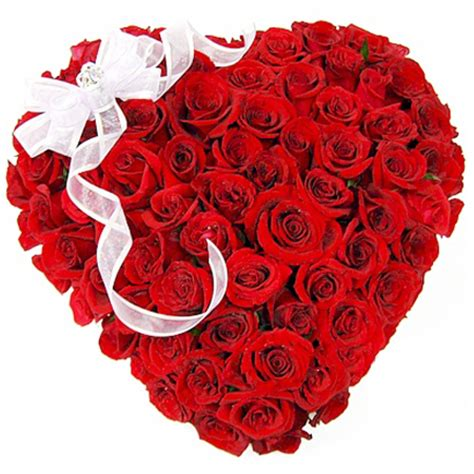 Jlo Hearts Valentines Day Delivery Date by 50 Roses Shape Arrangement With Big White Bow