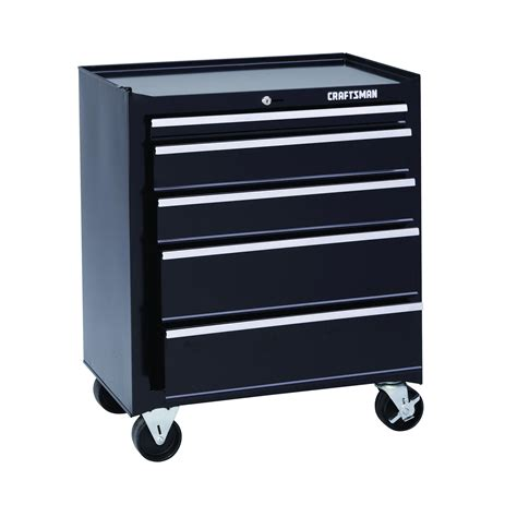 craftsman 5 drawer tool box kmart craftsman 26 quot wide 5 drawer basic bottom chest black