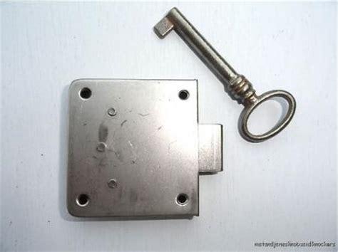 antique style drawer lock with key wardrobe cupboard