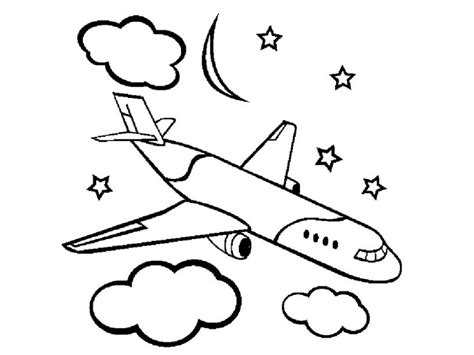 preschool coloring pages airplane airplane colouring sheets learning printable