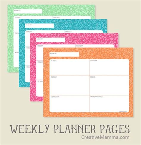 doodle vs calendar free printable doodle weekly planner for use with post