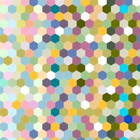 adobe illustrator hexagon pattern abstract colorful seamless hexagon background design free