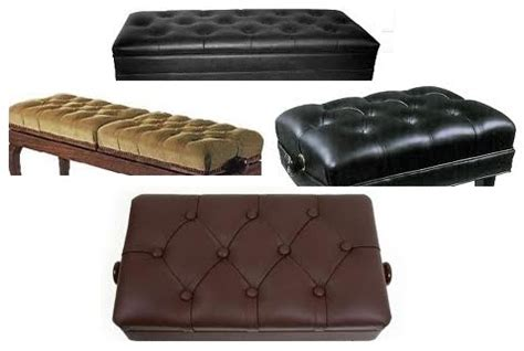 leather bench cushions leather piano bench cushions keytarhq music gear reviews