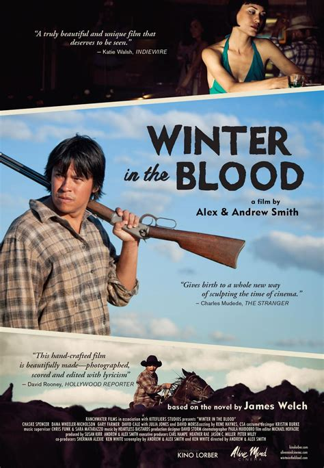 film it in the blood review winter in the blood