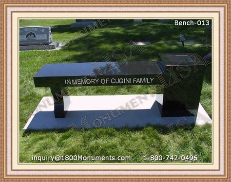 memorial benches cost bench headstones