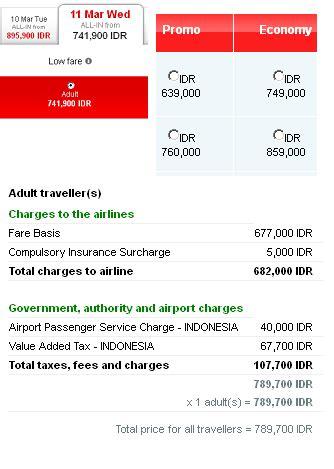 Harga Tiket Pekanbaru Jakarta komponen penyusun harga tiket pesawat traveling tips