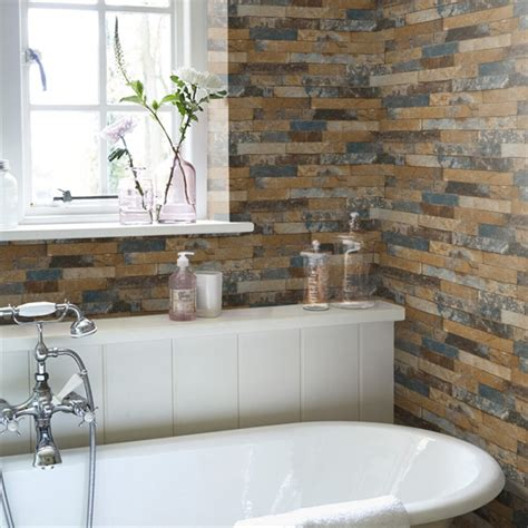 bathroom wallpapers our pick of the best ideal home brick wallpaper our pick of the best ideal home