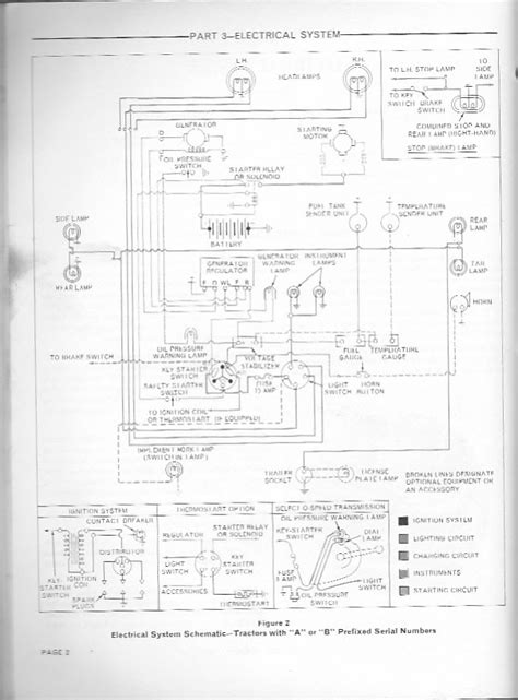 wiring diagram   ford  tractor approx