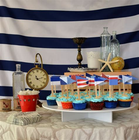 boat shelf for cupcakes 1000 images about nautical cupcakes on pinterest