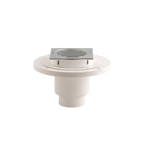 wondercap 2 in abs tile shower drain outlet with square