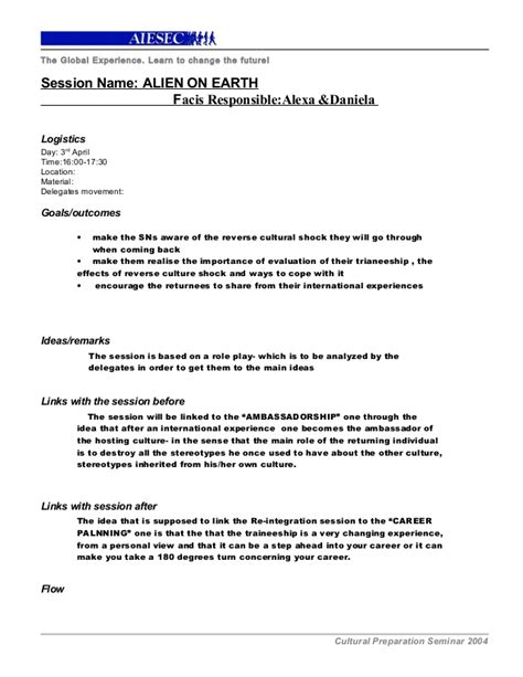 Session Outline Template session outline template cps 1