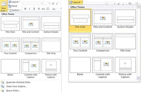 slide layout design powerpoint duplicate rename and edit slide layouts in powerpoint