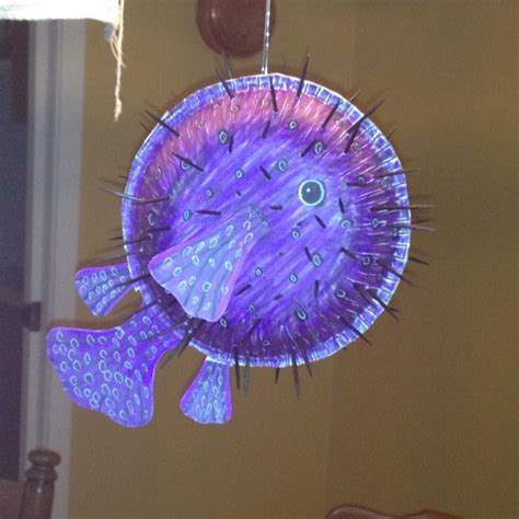 puffer fish craft home made puffer fish craft you will need 2 paper bowls