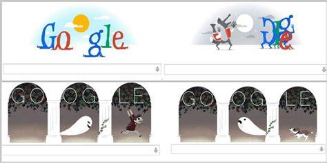 doodle seram tiba hari ini dipenuhi hantu hantu lucu