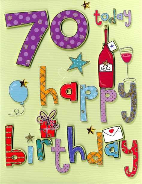Printable 70th Birthday Cards 70th Birthday Sayings Print From A Happy 70th Birthday