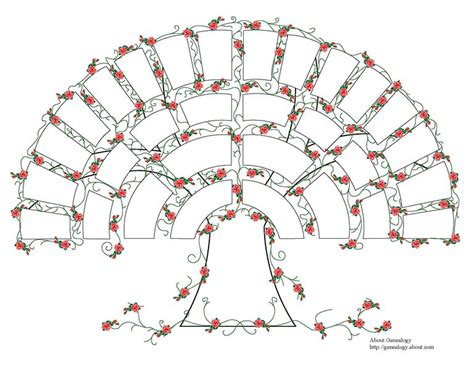 printable family tree fan chart free genealogy charts and forms
