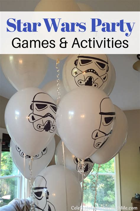 how we created our boys star wars themed bedrooms cool galactic star wars party games activities celebrate
