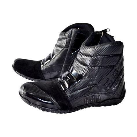 Sepatu Motor Rvr V2 Black jual rvr v2 sepatu boots unisex black