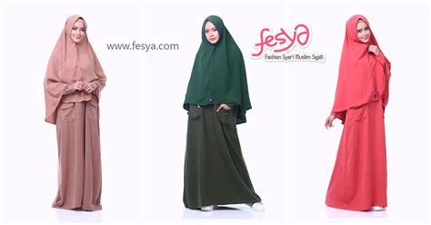 Alsa Gamis Fathia syar i shop fesya