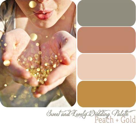 wedding color palettes wedding color palette peach