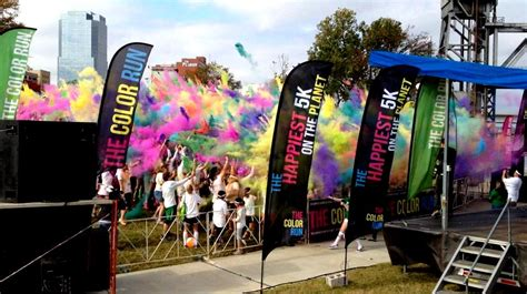 portland color run color run 5k registration open portland medford run oregon