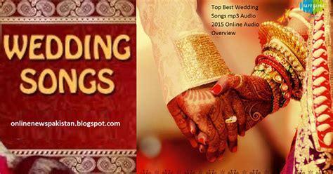 Top Best Wedding Songs mp3 Audio 2016 Online Audio
