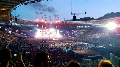 live rome muse the opening live stadio olimpico roma 2013