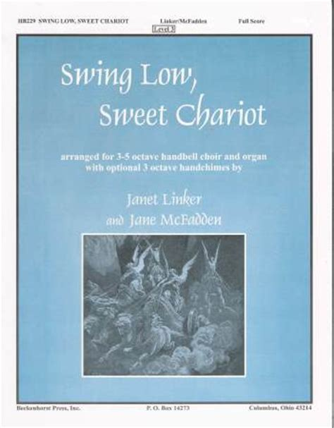 swing low sweet chariot meaning swing low sweet chariot sheet music by linker mcfadden