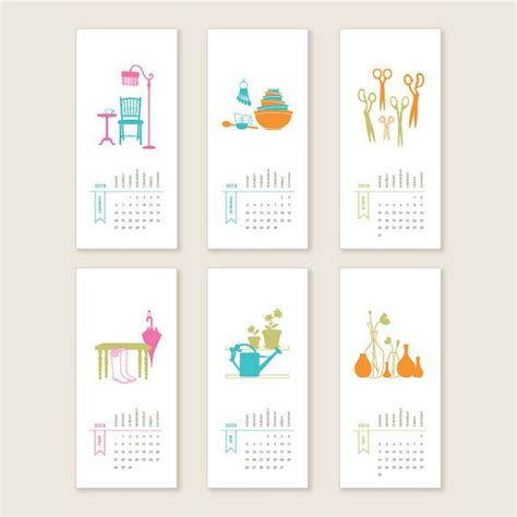 printable calendar graphic design home wall calendar 10 29 creative calendars you can