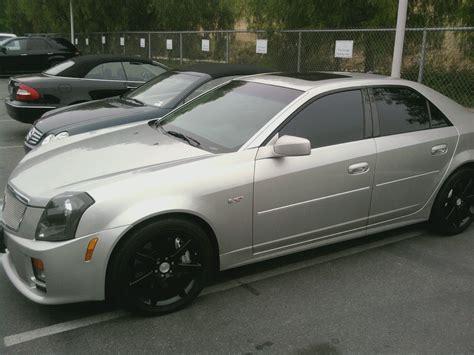2004 cadillac cts silver 2004 cadillac cts v black silver ls1tech camaro and