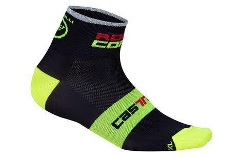 Castelli Sock Rosa Corsa castelli rosso corsa 6 white socks bike shoes