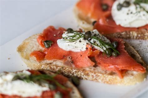 smoked salmon canape ideas smoked salmon canap 233 s the of cooking