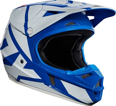 youth motocross racing 119 95 fox racing youth v1 race mx motocross helmet 995527