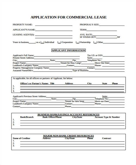 commercial business form free iowa commercial lease
